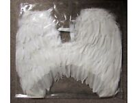 10 x angel wings real feather costume party fancy dress outfit