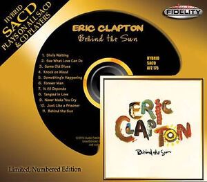 ERIC-CLAPTON-Behind-The-Sun-HYBRID-SACD-Audio-Fidelity-2014-NEW