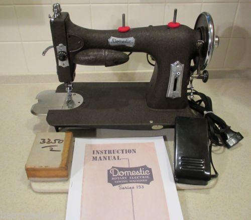 Domestic Sewing Machine EBay Best Domestic Sewing Machines