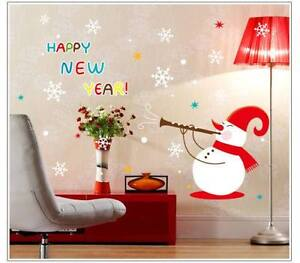 Brand New - Christmas/Happy New Year DIY Wall Art Mural Decals Sarnia Sarnia Area image 1