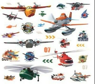 DISNEY PLANES FIRE AND RESCUE 29 Wall Decals Dusty Dipper Room Decor Stickers