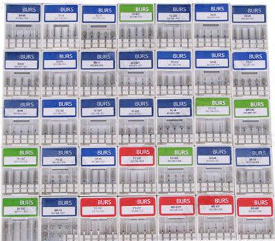 100pcs Dental Tooth Diamond Burs Medium Fg 1.6mm For High Speed Handpiece Choice
