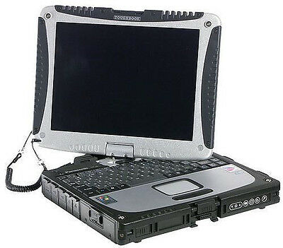 Panasonic toughbook CF-18 MK4 PM 1.2G 1.5G RAM 60GB HDD Touch screen Windows 7