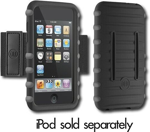 New Jam Jacket Sport Silicone Case + Armband for Ipod Touch 2nd Generation