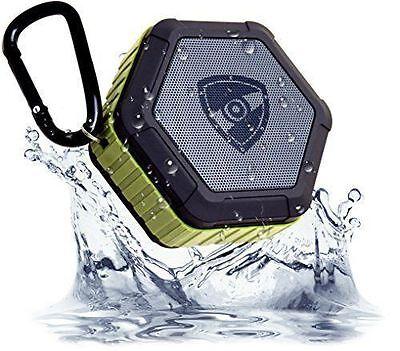 Zettaguard Plus Waterproof Bluetooth Speaker Durable Portable Outdoor Wireless