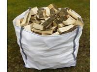 Wood burner logs