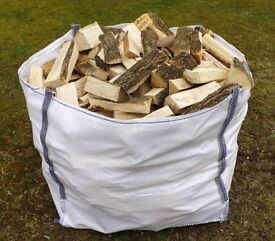 Quality seasoned logs free delivery