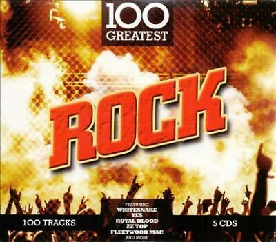 VARIOUS ARTISTS - 100 GREATEST ROCK NEW CD