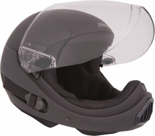 Phantom X Full Face Helmet, X SMALL (XSM), GLOSS BLACK ~ 2ND QUALITY