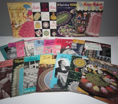 Vintage Crochet Books Ebay
