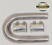 Chrome Radiator Hose