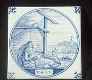 Hand Painted Delft Blue