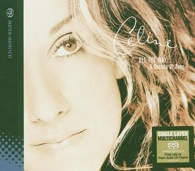 Celine Dion   All The Way  A Decade Of Song  Single Layer   New Sacd  Hong Kong