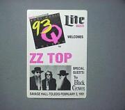 ZZ Top Sticker