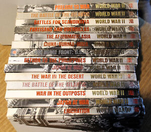 Time-Life World War II Set of 14 books for $40
