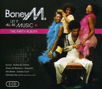 Boney M    Let It All Be Music  New Cd  Germany   Import
