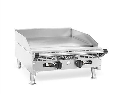 American Range Aetg-36 - Comercial Countertop Griddle Gas 36-inch
