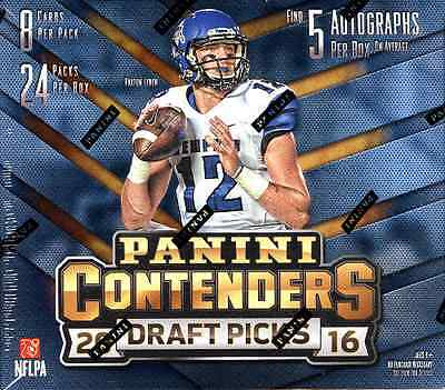 2016 PANINI CONTENDERS DRAFT PICKS FOOTBALL HOBBY SEALED BOX - IN STOCK!