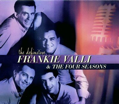 FRANKIE VALLI AND THE FOUR SEASONS THE DEFINITIVE CD THE BEST OF / GREATEST HITS