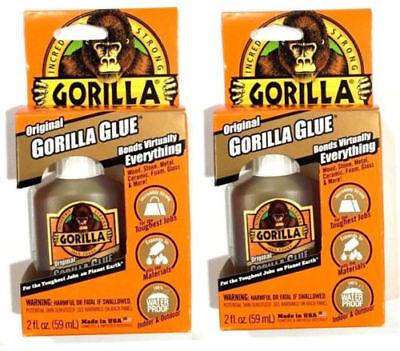 Gorilla Glue Adhesive 2-ounces 2 Pack