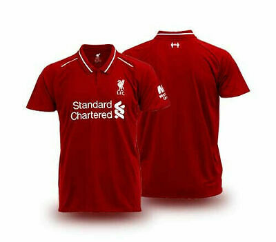 Liverpool Fc Home Shirt - 100% Official License 2019 LFC Liverpool FC Supporter Jersey Shirt Red Home