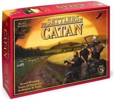 The Settlers of Catan- Catan Board Game Award Winning New