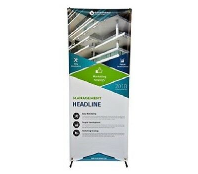 X Banner Stand Tripod Trade Show Display Advertising Banner Stand - 24 X 60