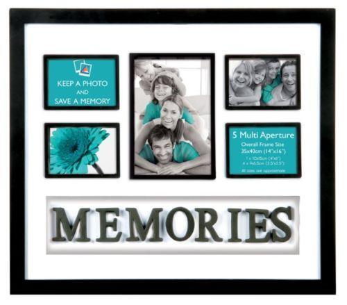 Memories Multi Photo Frame | eBay
