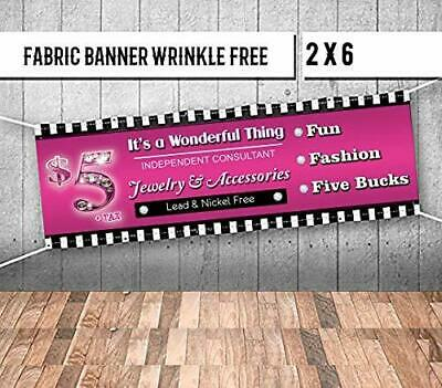 Banner Jewelry And Accessories Sign For Your Papa Boutique. Popup Party Facebook
