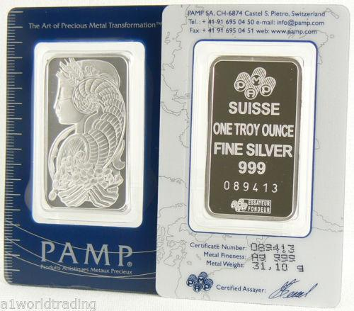 Pamp Suisse Silver Ebay