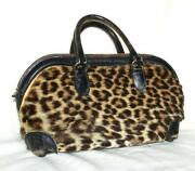 Vintage Leopard Purse
