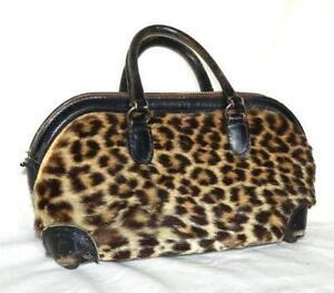 c91f04acfdf1 Vintage Leopard Purse