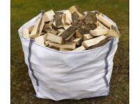 hardwood seasoned logs!! 100% seasoned firewood