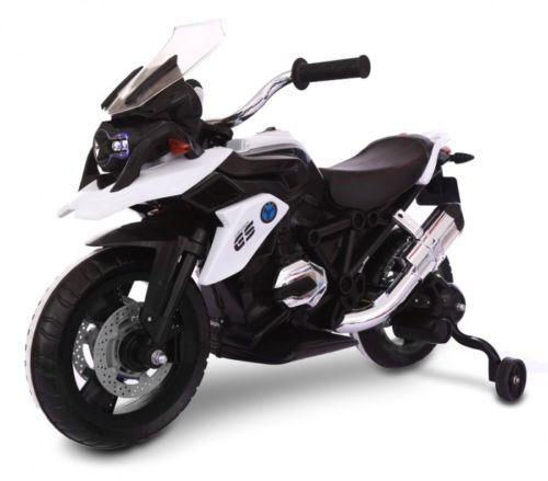 Moto Motocicletta Elettrica per Bambini  BMW GS MOTO Flower 12V BIANCO