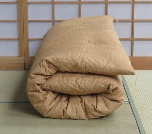 Japanese 100 Organic Cotton Double Bed Futon Mattress Cover And Tatami Floor Mat