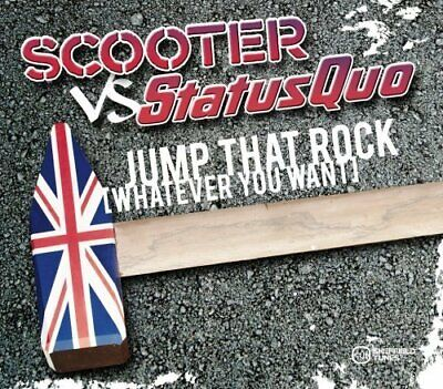 Scooter [maxi-cd] jump that rock (whatever you want; 2008, vs. status quo)