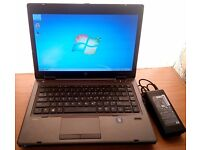 HP PROBOOK 6475B LAPTOP AMD A6 4400M (equiv to core i5) 750GB 4GB WEBCAM WIN 7
