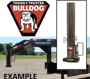 "NEW BULLDOG TRAILER GOOSENECK BASE 0287610300 219721841 Base Assembly -2-5/16"" Ball - 20,000 lbs UNIVERSAL FITMEN"