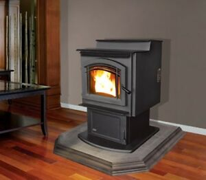Enviro M55 Multi-Fuel Pellet Stove with Venting