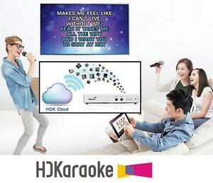 NEW HDKARAOKE HDK 2.0 STREAMING BOX - 110321678 - treaming Karaoke Machine Supports iPad/iPhone/Android Apps Control