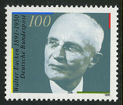 Germany 1624, MNH. Walter Eucken, economist, 1991