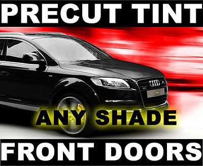 Front Window Film for Dodge Caravan & Grand 08-2013 Glass Any Tint Shade PreCut ()