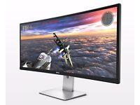 """Dell U3415W Ultra Wide Screen 34"""" Inch PC Monitor"""