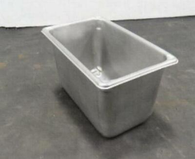 Stainless Steel Fourth Size 6 Deep Steam Table Pan Buffet 14th Quarter