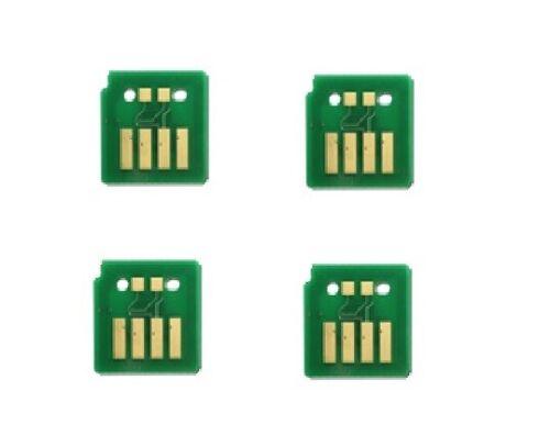 4 x TONER CHIPS FOR XEROX VERSALINK C7020 C7025 C7030 106R03745-46-47-48 C-Y-M-K