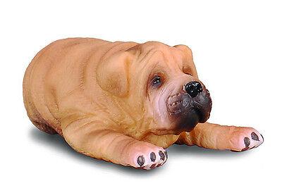 SHAR PEI PUPPY  #88194 ~ Realistic Dog Replica FREE SHIP/USA w/$25+CollectA