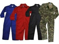 New Kids Childs Boys & Girls Tearaway Junior Coverall Overall Woodland