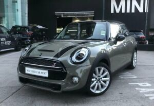 2018 Mini Hatch F55 LCI Cooper S DCT Grey 7 Speed Sports Automatic Dual Clutch Hatchback South Melbourne Port Phillip Preview