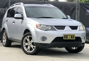 2007 Mitsubishi Outlander CW Silver Automatic 4-Door Wagon Carrara Gold Coast City Preview