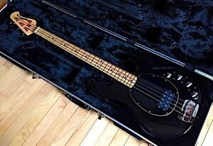 Ernie Ball Musicman Stingray Bass guitar with case